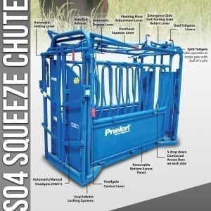 Priefert Cattle Squeeze Chute S04